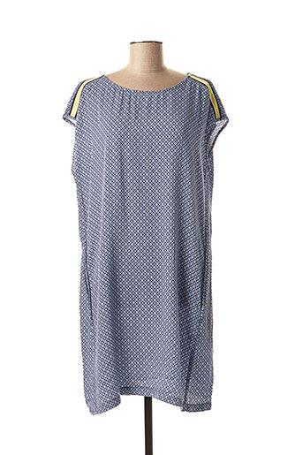 Robe mi-longue bleu CECIL pour femme