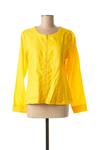 Veste chic / Blazer jaune MALOKA pour femme