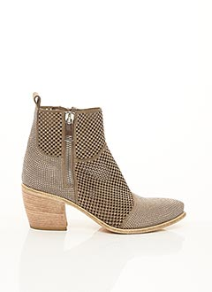 Bottines/Boots beige FRUIT pour femme