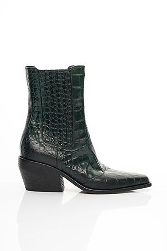Bottines/Boots vert ELENA LACHI pour femme