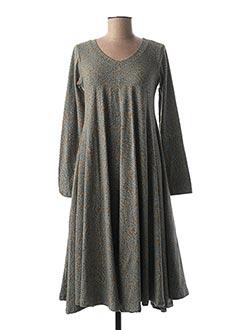 Robe longue bleu KALI YOG pour femme