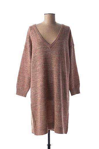 Robe pull rose LOLA ESPELETA pour femme