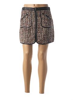 Jupe courte noir CAPSULE pour femme