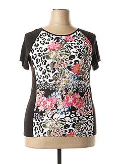 T-shirt manches courtes rose ARONA SAN FRANCISCO pour femme