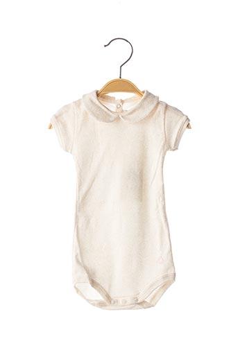 Body beige PETIT BATEAU pour fille