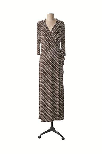 Robe longue noir AU SOLEIL DE ST TROPEZ pour femme