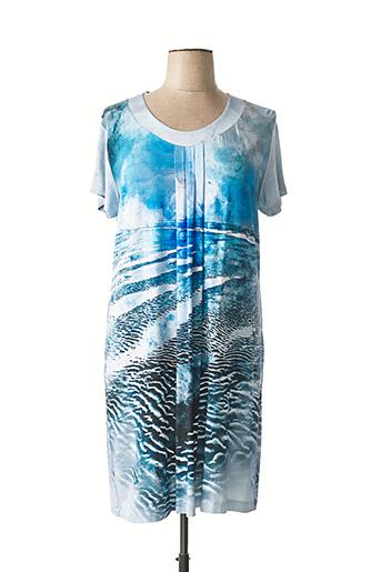 Chemise de nuit bleu EGATEX pour femme