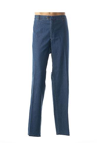 Jeans coupe slim bleu BRÜHL pour homme