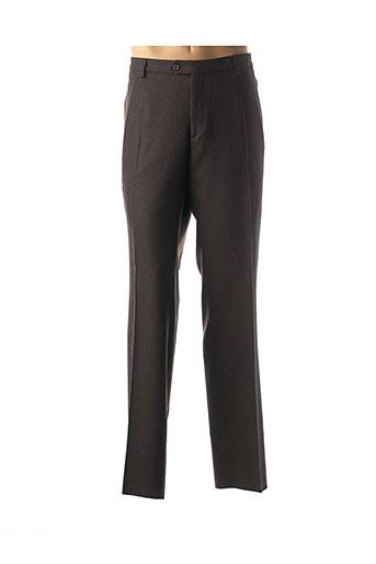 Pantalon chic marron FITECOM pour homme