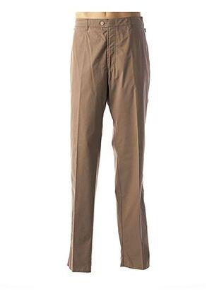 Pantalon chic marron BRÜHL pour homme