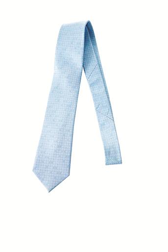 Cravate bleu MAC-TY pour homme