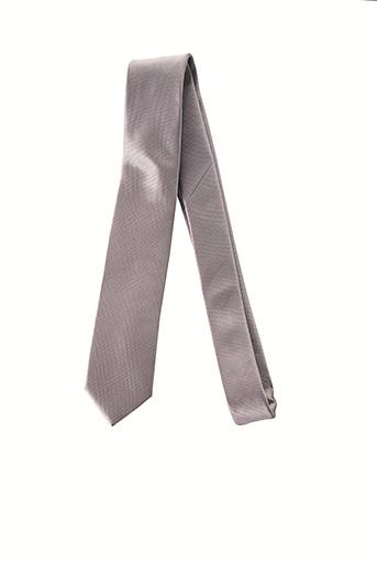 Cravate gris MAC-TY pour homme
