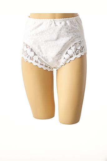 Culotte gainante blanc BOLERO pour femme