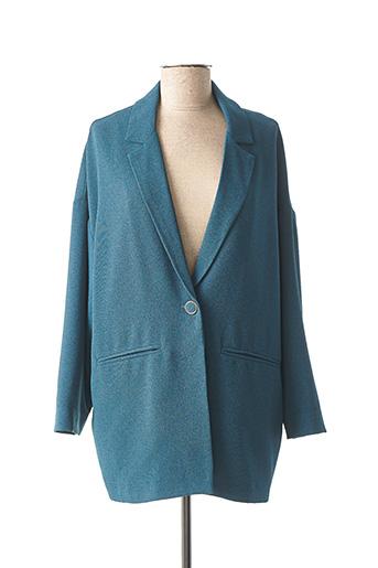 Veste chic / Blazer bleu PAKO LITTO pour femme