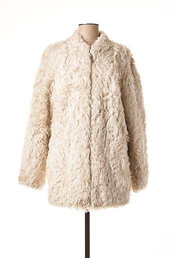 Manteau court gris INTUITION pour femme