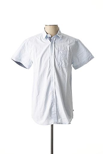 Chemise manches courtes bleu CBK pour homme