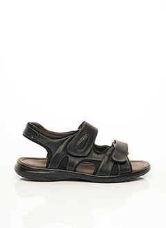 Sandales/Nu pieds noir FARGEOT pour homme