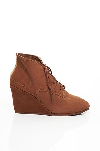Bottines/Boots marron ELEVEN PARIS pour femme