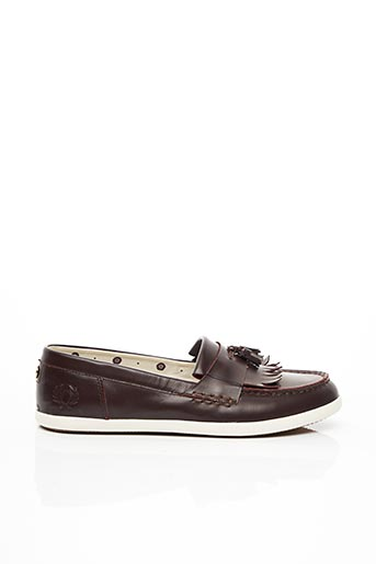 Chaussures bâteau marron FRED PERRY pour homme