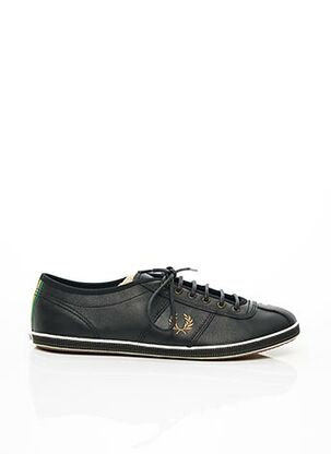 Baskets noir FRED PERRY pour homme