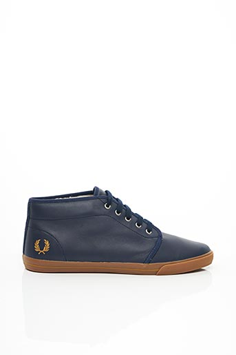 Baskets bleu FRED PERRY pour homme