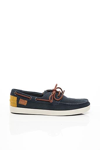 Chaussures bâteau bleu LACOSTE pour homme