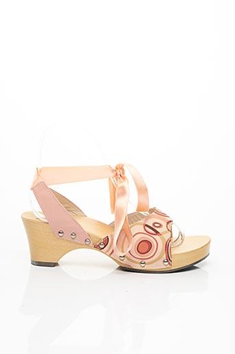 Sandales/Nu pieds rose SCHOLL pour femme