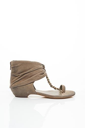 Sandales/Nu pieds gris ASH pour femme