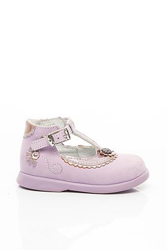 Bottillons violet LITTLE MARY pour fille