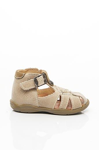 Sandales/Nu pieds beige LITTLE MARY pour garçon