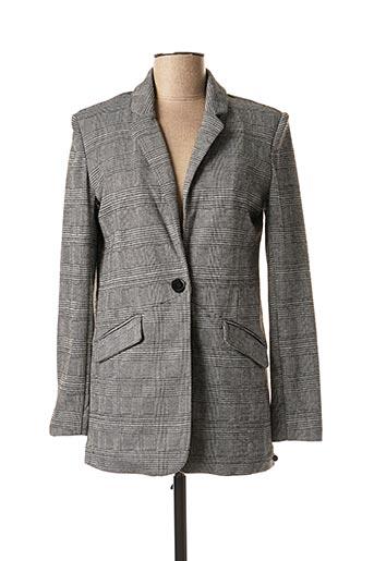 Veste chic / Blazer gris FRANSA pour femme