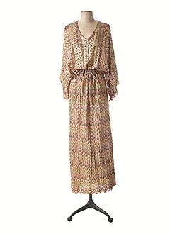 Robe longue beige VALERIE KHALFON pour femme