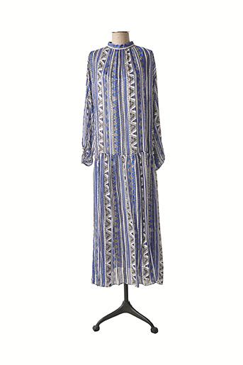 Robe longue bleu VALERIE KHALFON pour femme