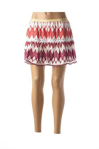 Mini-jupe orange VALERIE KHALFON pour femme