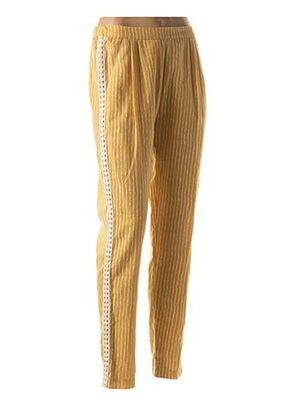 Pantalon casual beige VALERIE KHALFON pour femme