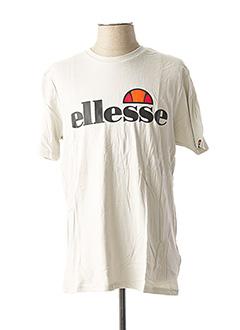 T-shirt manches courtes gris ELLESSE pour homme