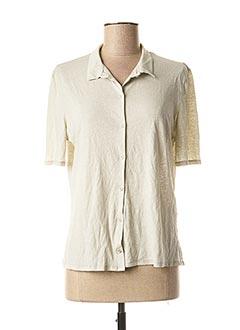 Veste casual beige APUNTOB pour femme