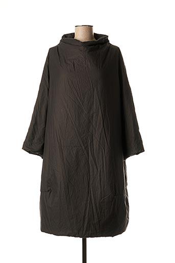 Robe mi-longue noir ALBUM DI FAMIGLIA pour femme