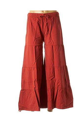 Pantalon casual rouge DIPAWALI pour femme
