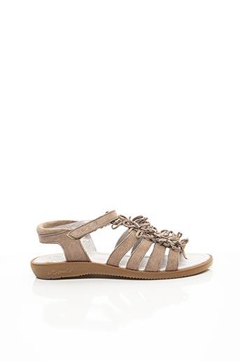 Sandales/Nu pieds beige MOD 8 pour fille
