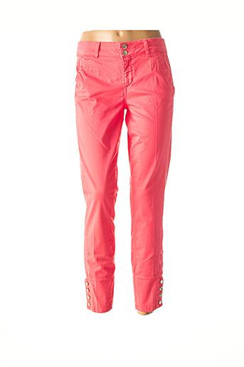 Pantalon 7/8 rose LIU JO pour femme
