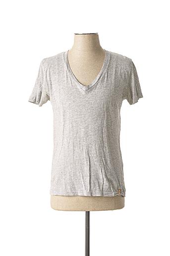 T-shirt manches courtes gris KILIWATCH pour homme