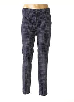 Pantalon chic bleu FICELLE pour femme