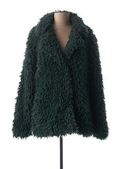 Manteau court vert B.YOUNG pour femme