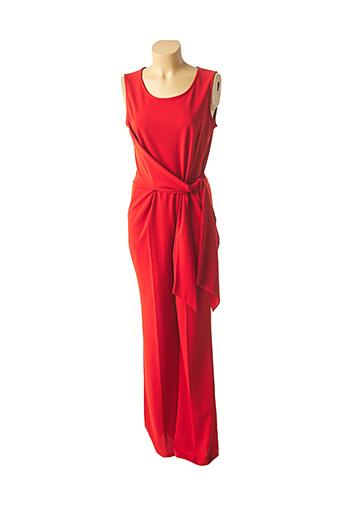Combi-pantalon orange LADY LOL pour femme