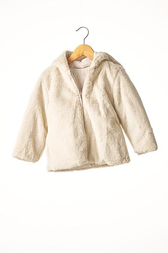 Manteau long beige MAYORAL pour fille