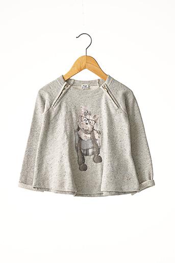 Sweat-shirt gris MAYORAL pour fille