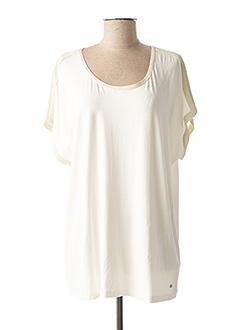 Tunique manches courtes blanc GERRY WEBER pour femme