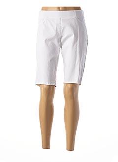 Bermuda blanc GERRY WEBER pour femme