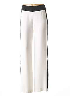 Pantalon casual blanc BLEU BLANC ROUGE pour femme